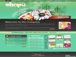 shape形象设计公司网页模板