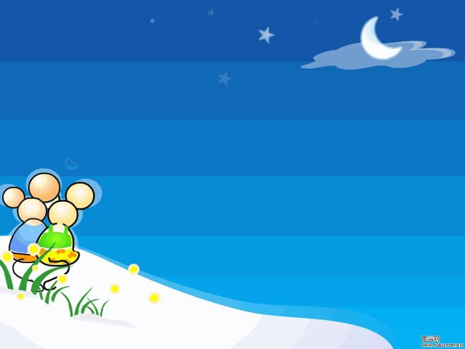 蓝色月亮卡通头像