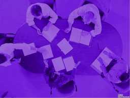 会议模板紫色