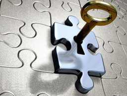 智慧钥匙PPT模板