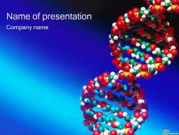 双环DNA立体模型医学模板