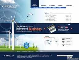 欧美科技网页模板