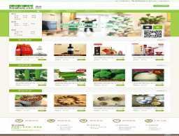 绿色便利店水果单店铺B2c网站首页