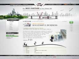 免费韩国商务模板