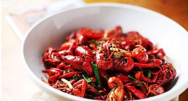 火红小龙虾
