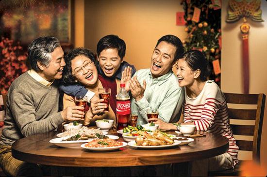 可口可乐阖家欢乐